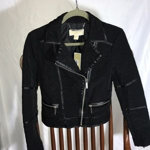 Nice Michael Kors Quilted Motorcycle Jacket